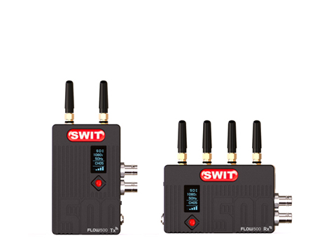 Wireless Transmitter&Receiver/3GSDI/HDMI/150m/500ft/LOS/5GHz DFS Comply/Strong wall-cross/Chip encryption/Sony F970 mount